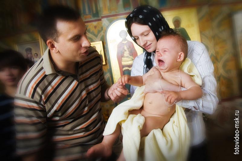 Беременная может быть крестной 874