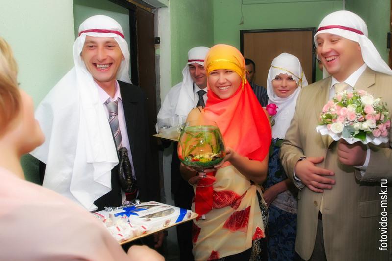 Выкуп невесты для татарской свадьбы